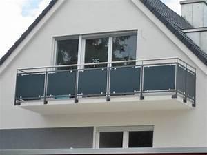 Balkongeländer Glas Anthrazit : anspruchsvolle und individuelle balkone balkongel nder ~ Michelbontemps.com Haus und Dekorationen