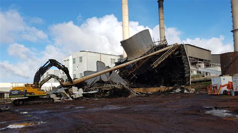 muja power station early demolition liberty industrial