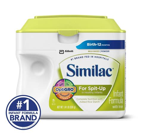 Similac For Spit Up Infant Formula With Iron Powder 1 41