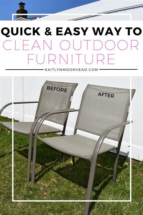 cleaner  outdoor furniture mildew