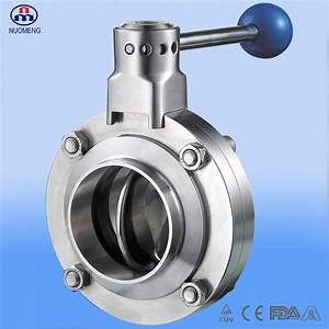 Stainless Steel Manual Welded Butterfly Valve  Dn11850