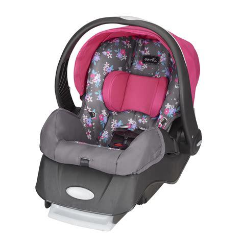 evenflo embrace select infant car seat blossom walmart