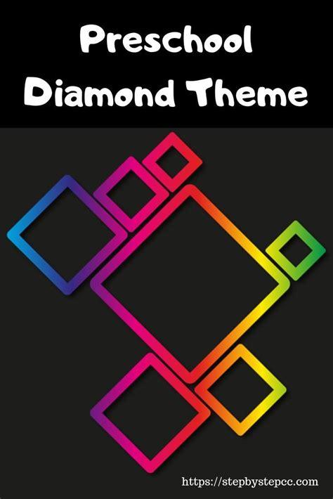 preschool diamond theme shape activities preschool