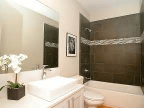bathroom surround tile ideas this modern bathroom features a tile tub surround with