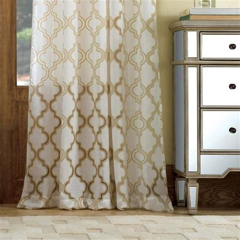 penrose burnout sheer curtain drapery panels