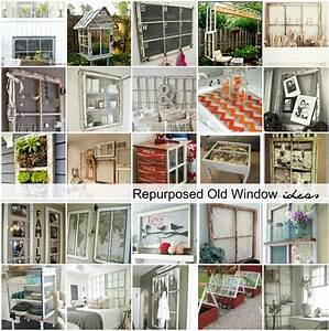 Repurposed Old Window Ideas The Idea Room