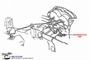 1966 Corvette Trip Odometer Reset Parts