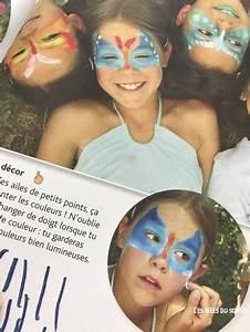 Maquillage Simple Enfant : kermesse mod les simples et astuces pour le stand maquillage ~ Melissatoandfro.com Idées de Décoration