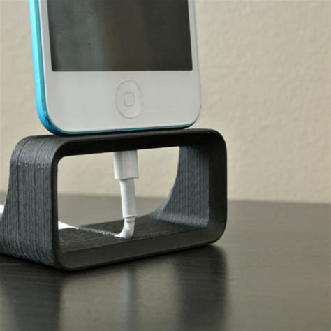 iphone stand iphone dock stand 3d model cults