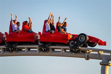 ferrari world theme park ticket silver global voyages