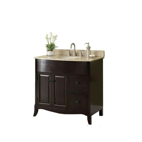 2 sink vanity top 37 in w x 35 in h x 22 1 2 in d vanity in espresso with