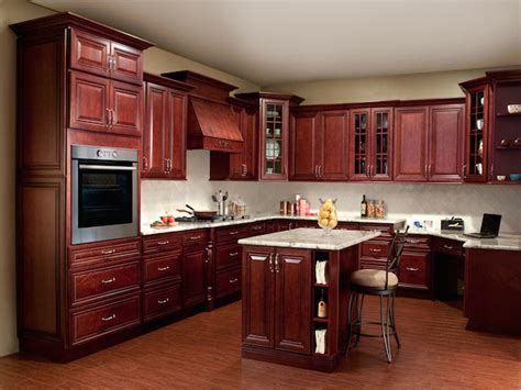 Decorating Ideas For Kitchen With Cherry Cabinets by Cherry Kitchen Cabinets Countertops Design Ideas