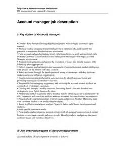 account executive description for resume account manager description for resume recentresumes