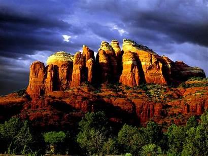 Sedona Arizona Rocks Credit Places Visit States