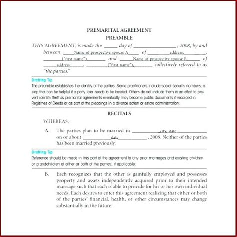 illinois prenuptial agreement form free prenuptial agreement template exle prenup lovely