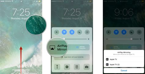 airplay on iphone how to quickly access settings and apps with