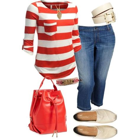 8 cute casual plus size summer outfits with capri pants - Page 8 of 8 - stylishwomenoutfits.com