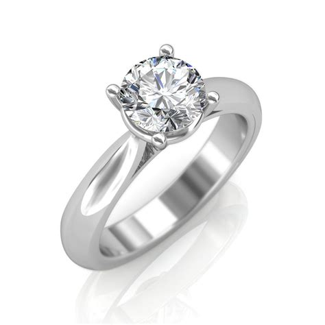 18k engagement ring engagement ring solitaire rings at best