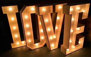large light up love letters for weddings hotsteppaz With large light up letters for wedding