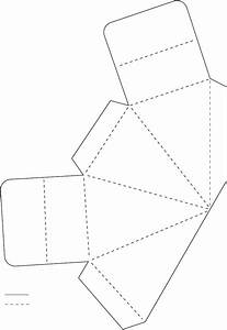 triangle box 4 templates pinterest triangles box With triangle packaging template