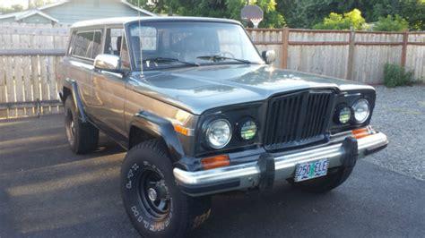 jeep cherokee chief blue jeep cherokee chief grand cherokee wagoneer