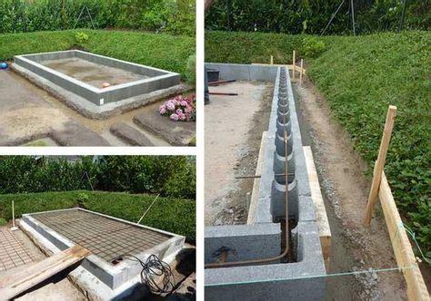 Betonarbeiten Für Den Garten by Das Richtige Fundament F 252 R Ihr Gartenhaus Betonarbeiten