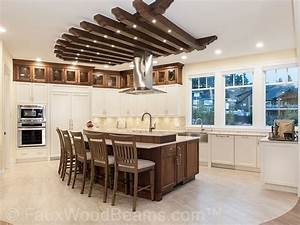 Interior design photos faux wood work