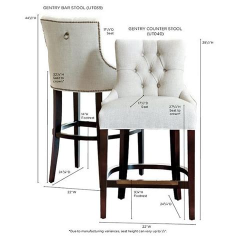 Upholstered Stools For Living Room by This Upholstered Bar Stool Features A Button Tufted Back