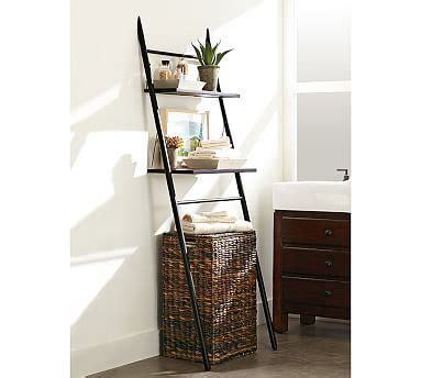 Toilet Etagere by Rustic The Toilet Etagere Pottery Barn