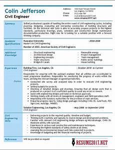Resume Social Worker Civil Engineer Resume 2017 Samples