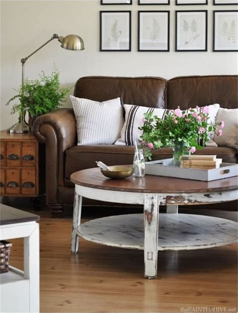 decorating with brown leather couches decorating around a leather sofa centsational