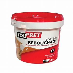 Enduit Exterieur Avant Peinture : enduit de rebouchage 4 kg rp04 toupret home boulevard ~ Premium-room.com Idées de Décoration