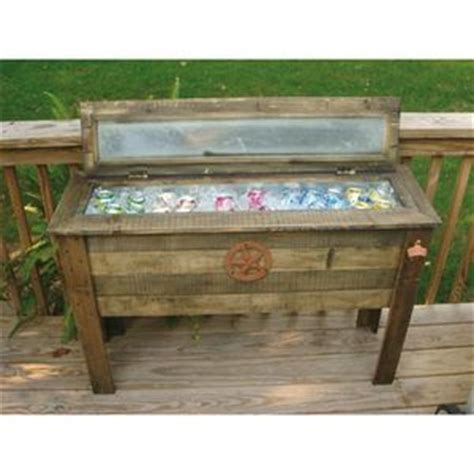 Fleet Farm Patio Table by 18 Best Wooden Cooler Ideas Images On