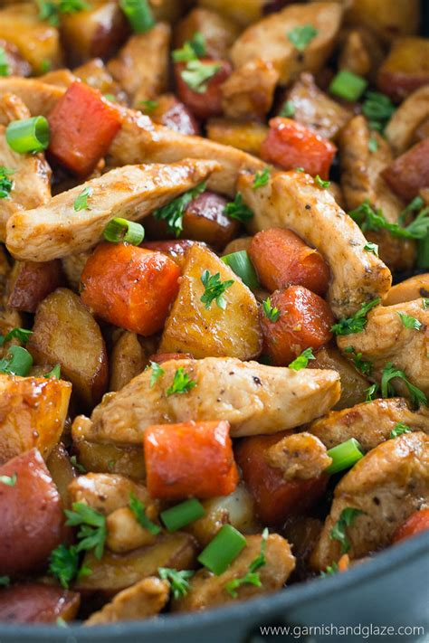 meal ideas with potatoes one skillet bbq chicken and potatoes