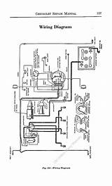 Chevrolet Chevy 1929 Car Wiring Electrical Diagram