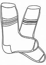 Socks Coloring Pages Socks5 sketch template