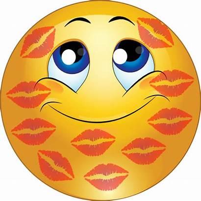 Smiley Kissing Emoticon Clipart Kiss I2clipart Domain