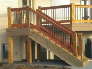 Deck Railing Post Height by 1000 Images About Stair Rails On Pinterest