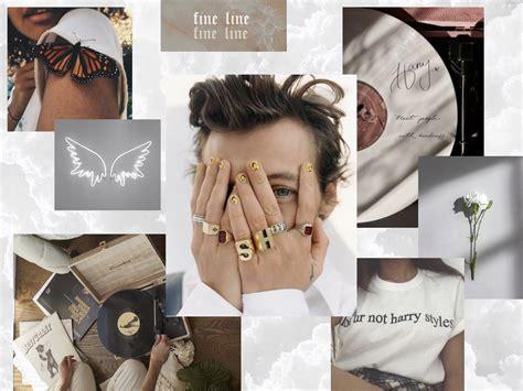 white harry styles aesthetic wallpaper for in 2020