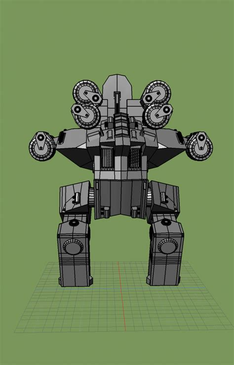 rhino war robot   models
