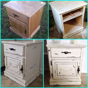 Shabby Chic Diy : my diy shabby chic nightstand furniture makeover painted wood furniture distressed paint ~ Frokenaadalensverden.com Haus und Dekorationen