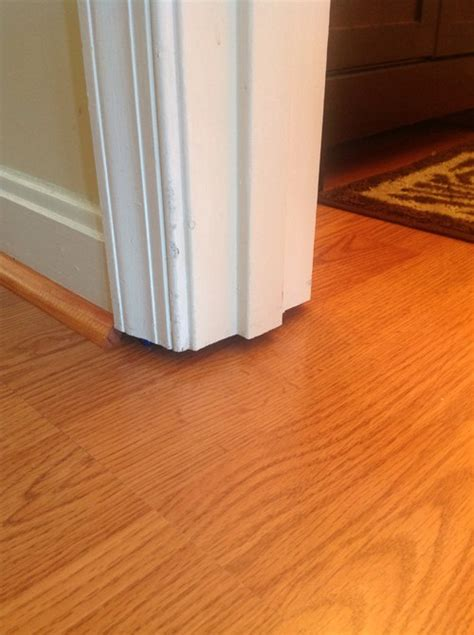 laminate flooring filler filler for door jamb