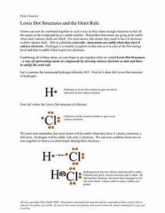 Lewis Dot Structures And The Octet Rule