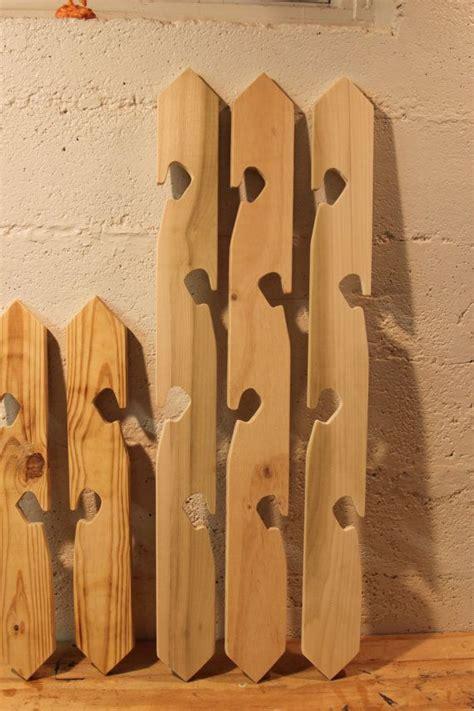 wooden flower pot hanger  blackstonestudios  etsy