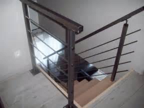 garde corps en kit pour escalier et mezzanine