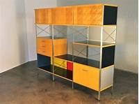 eames storage unit Vintage Eames-Style Storage Unit by Modernica for Herman Miller at 1stdibs