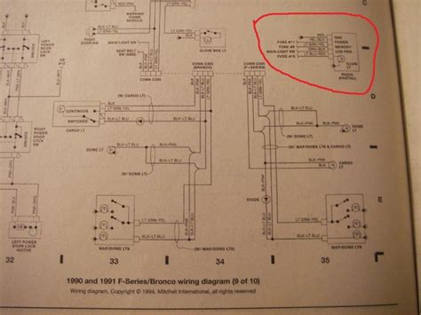 wiring diagram for 1991 ford f 150 ford f150 forum