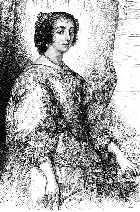 queen henrietta maria clipart