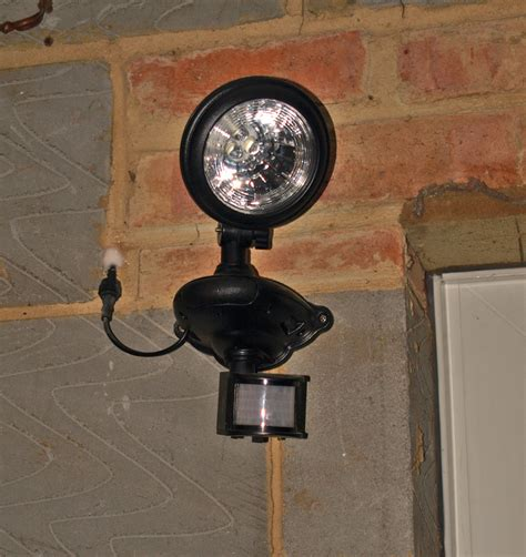 marvellous solar powered security light b q contemporary