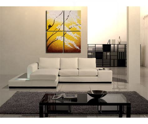 The cherry is one of the world's most delicious fruits, which explains why so many candies and snacks are flavored like this tiny red morsel. Large Painting Yellow Cherry Blossom Textured Wall Art Home Decor Love Birds 32x40 or Larger ...